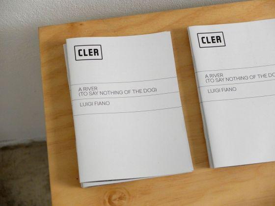CLER. Brochure della mostra di Luigi Fiano