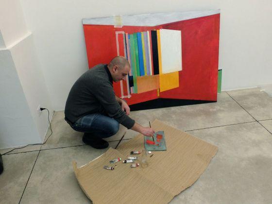 CLER. L'artista Farid Rahimi, Empty Walls Drawings (dalla serie)