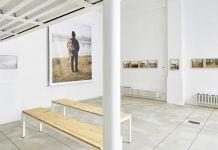 CLER. Veduta parziale della mostra di Luigi Fiano, A River (dalla serie)