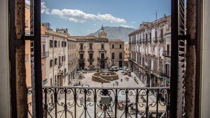 La spirale della vita Meggiato, Manifesta Palermo 2018