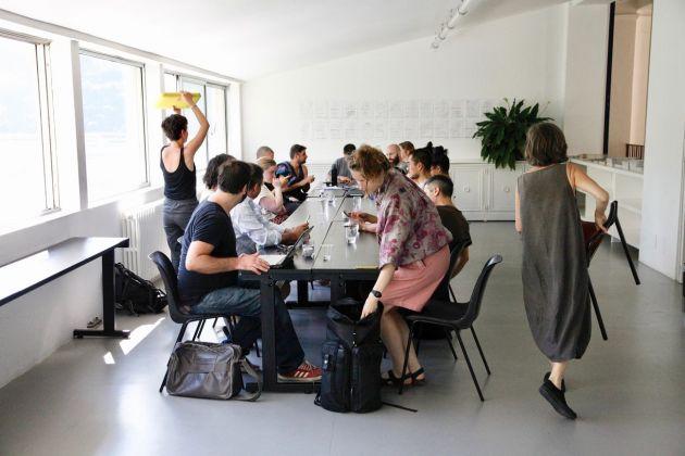 CSAV - Artists' Research Laboratory. Fondazione Antonio Ratti, Como 2018. Christina Mackie, How to Begin