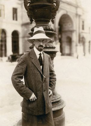 Carl Burckhardt, Firenze, aprile 1922 © Nachlass Carl Burckhardt
