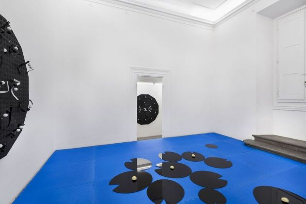 Collector's choice. Luca Pozzi. Exhibition view at Eduardo Secci Contemporary, Firenze 2018. Photo Stefano Maniero