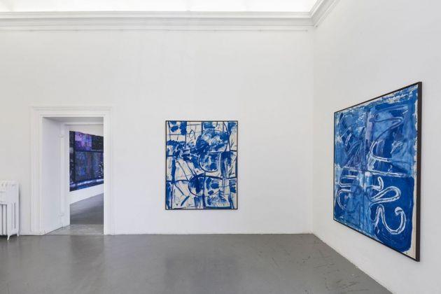Collector's choice. Martin Lucak & Kristian Touborg. Exhibition view at Eduardo Secci Contemporary, Firenze 2018. Photo Stefano Maniero