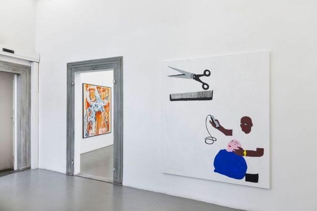 Collector's choice. Ricardo Passaporte & Martin Lucak. Exhibition view at Eduardo Secci Contemporary, Firenze 2018. Photo Stefano Maniero
