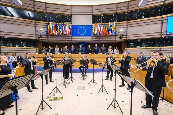"""Conferenza di Alto Livello """"Patrimonio culturale in Europa. Unire passato e futuro"""", Parlamento europeo, Bruxelles, 26 giugno 2018 © European Union 2018 – Source EP / Didier Bauweraerts"""