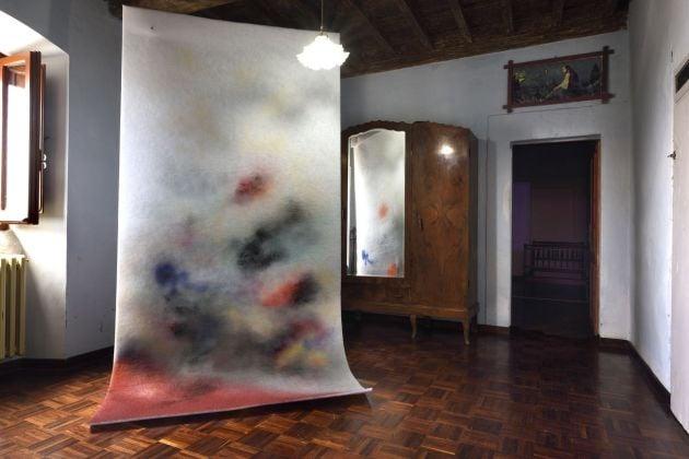 Corinna Gosmaro, exhibition view, Straperetana 2018, photo Gino Di Paolo