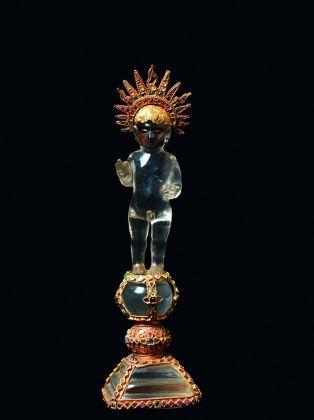 Cristo Bambino come Salvator Mundi, Sri Lanka, XVI sec. Collezione privata, Lisbona. Photo credits Massimo Listri