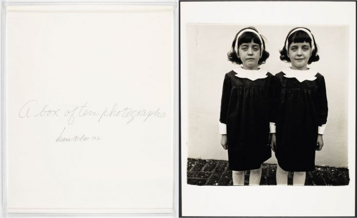 Diane Arbus, A box of ten photographs, 1970 © Christie's Images Limited 2018