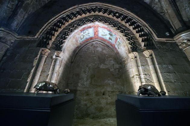 Jan Fabre, Ecstasy & Oracles, Complesso Monumentale di Santo Spirito, Agrigento. Ph. Igor Petyx
