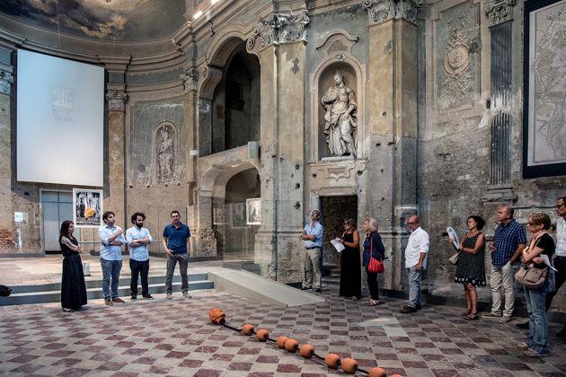 Erjon Nazeraj, Habitus, exhibition view at Oratorio di San Quirino, Parma 2018
