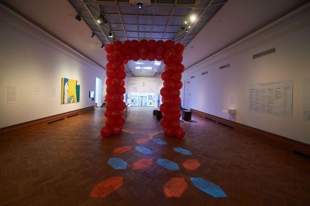 Exhibition view Curatorial Studies KASK © Yannick Sas