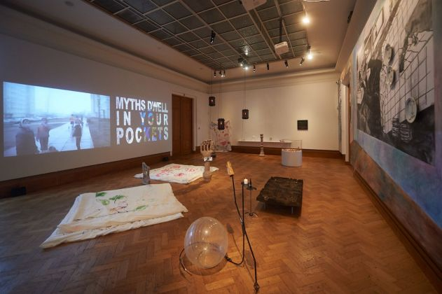 Exhibition view Komplot © Yannick Sas