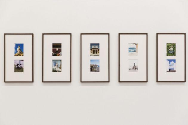 Filippo Minelli, Paysage. Installation view at UNA, Piacenza 2018. Courtesy l'artista e UNA