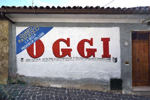 Flavio Favelli, exhibition view, Straperetana 2018, photo Gino Di Paolo