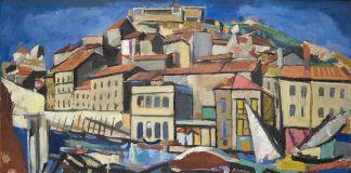 François Desnoyer, Il porto di Sète, 1948 © Musée Paul Valéry