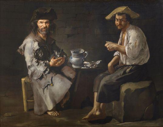 Giacomo Ceruti detto il Pitocchetto, Due pitocchi, 1730-34 ca. Brescia, Pinacoteca Tosio Martinengo © Fondazione Brescia Musei