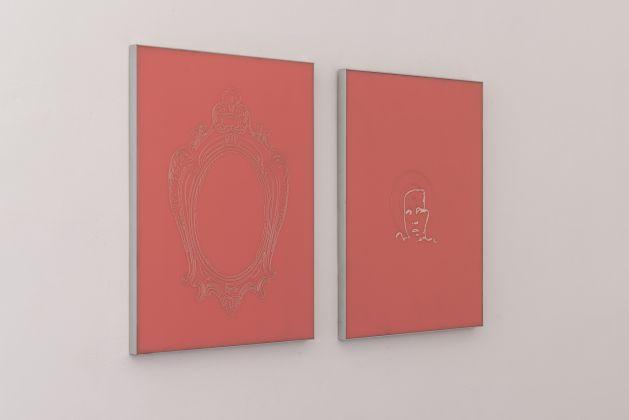 Gianfranco Grosso ‒ Vero/falso… Eros è la Vita… Metafisico è il viaggio, exhibition view at Angelo Azzurro, Roma 2018, photo Sebastiano Luciano