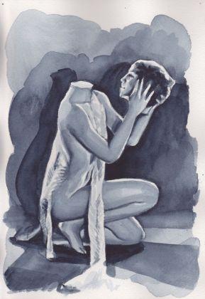 Giulia Andreani, Salomé, 2015, acquarello su carta. Collezione privata