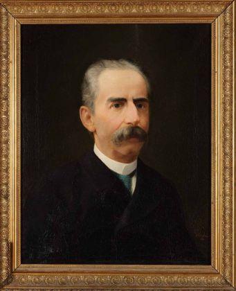 Giuseppe Lorenzoni, Ritratto del Segretario Girolamo Fabris, 1886