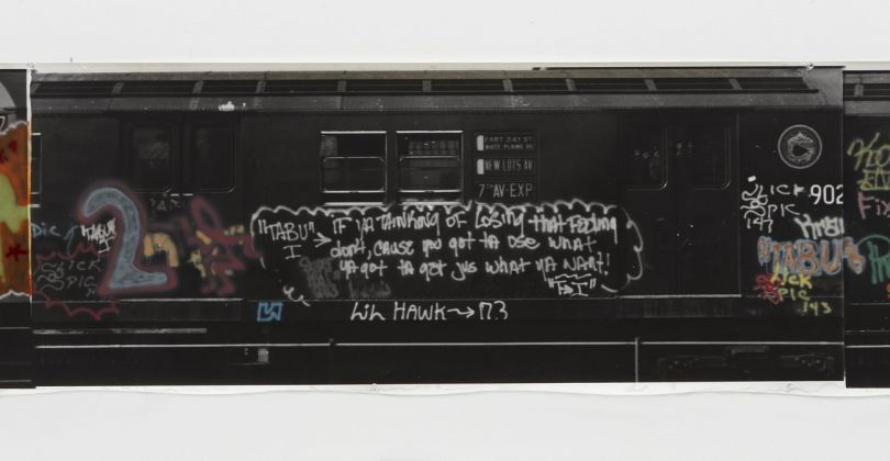 Gordon Matta-Clark, Graffiti, 1975. Courtesy The Estate of Gordon Matta-Clark e David Zwirner © 2018 The Estate of Gordon Matta-Clark - ADAGP, Parigi