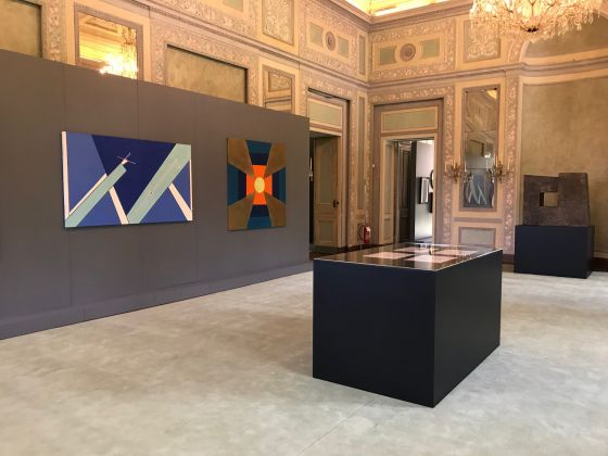 Ho Kan – Beyond Colors and Shapes, exhibition view at Villa Reale, Monza 2018