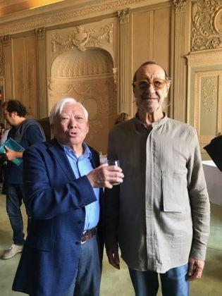 Ho Kan con Turi Simeti a Monza