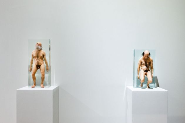 I Santissimi, Natural History - anno 2011-2012 sculture in silicone inglobate nella resina. photo Claudio Cappai