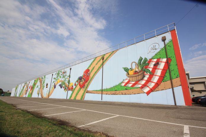 Grafiti versus comida