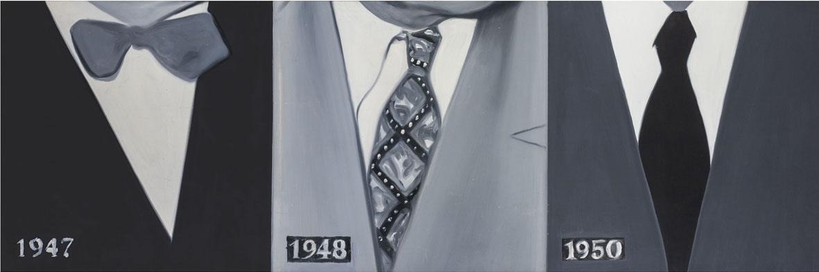 James Rosenquist, 1947 1948 1950, olio su masonite 1960