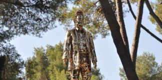 Jan Fabre. Ma nation. L'imagination. Exhibition view at Fondation Maeght, Saint-Paul de Vence 2018 © Angelos bvba _ Jan Fabre _ © Adagp Paris 2018. Photo Roland Michaud _ Archives Fondation Maeght