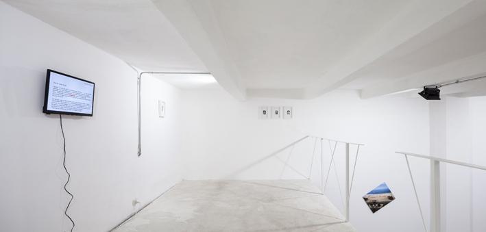 Janez Janša Janez Janša Janez Janša – Un uno una, exhibition view at Spazio Gamma, Milano 2018, photo Jacopo Nocentini