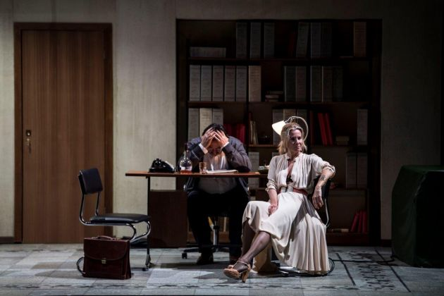 Julia Vysotskaya e Federico Vanni, photo Marco Ghidello