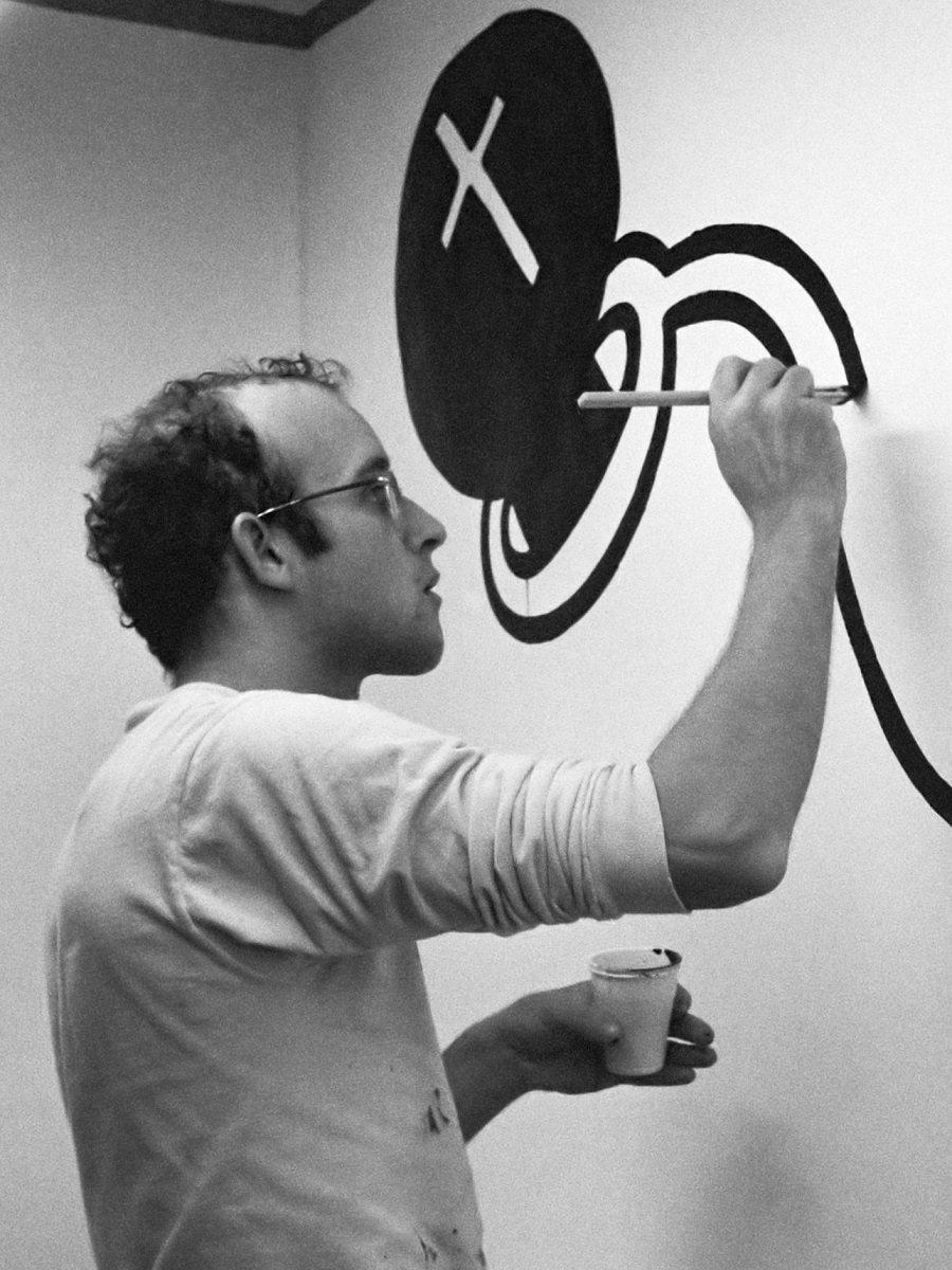 Keith Haring, Stedelijk Museum in Amsterdam,1986