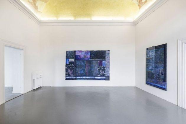 Kristan Touborg, Summer Night Plasticity (Excessive Impressionism) VII, 2018 & Summer Night Plasticity (Excessive Impressionism) IV, 2018. Photo Stefano Maniero