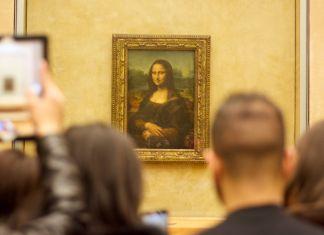 La Gioconda al Louvre