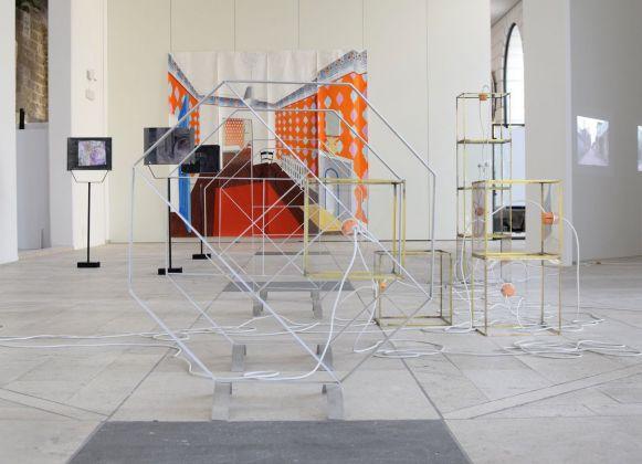 La città provvisoria. Exhibition view at Spazio Murat, Bari 2018