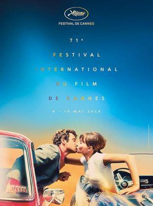 La locandina del 71. Festival di Cannes