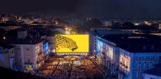 La piazza gremita per il Locarno Festival