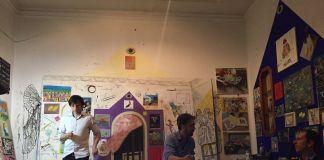L'appartamento studio dei Laboratorio Saccardi, Palermo, 28 maggio 2018