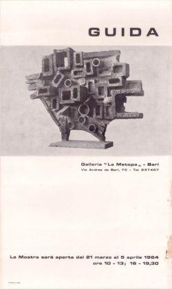 Locandina della mostra di Pietro Guida nel 1964