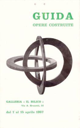 Locandina della mostra di Pietro Guida nel 1967