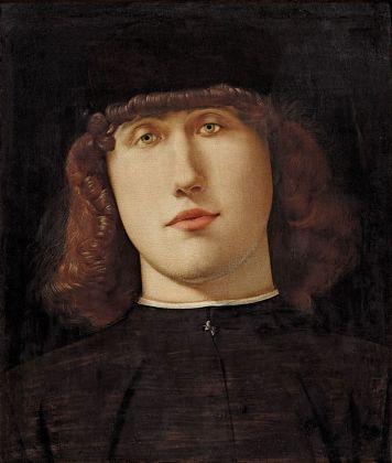 Lorenzo Lotto, Ritratto di giovane, 1500. Bergamo, Accademia Carrara