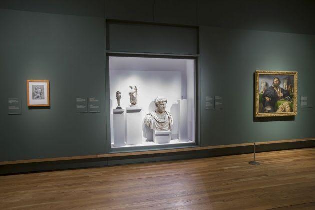 Lorenzo Lotto. Retratos. Exhibition view at Museo Nacional del Prado, Madrid 2018. Photo © Museo Nacional del Prado