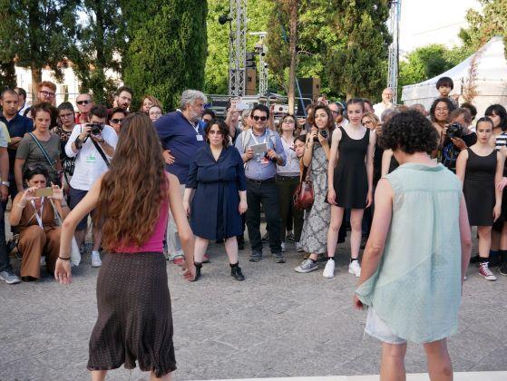 Manifesta 12. Palermo, 2018. La performance di Marinella Senatore