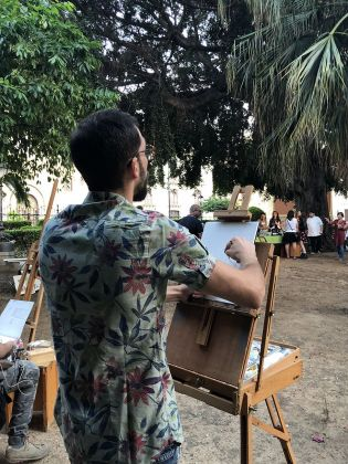 Manifesta 12. Palermo, 2018. Nuvola Ravera, Cosmorama, Palermo 2018. Photo credit Nuvola Ravera
