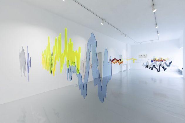 Maria Teresa Ortoleva. Rêverie. Exhibition view at Luca Tommasi arte contemporanea, Milano 2018. Photo Fabio Mantegna
