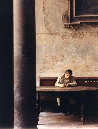 Mario Martone, Morte di un matematico napoletano (1992). Foto di scena di Cesare Accetta