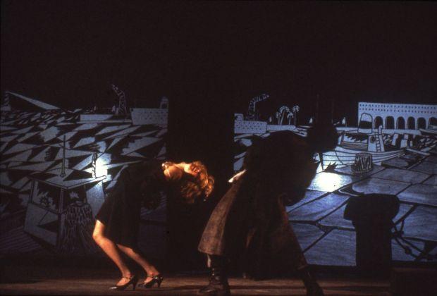 Mario Martone, Otello. Castel Sant'Elmo, Napoli 1982. Photo Cesare Accetta