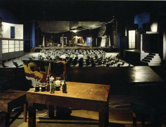 Mario Martone, Ritorno ad Alphaville. Cinema San Marco, Benevento 1986. Photo Cesare Accetta